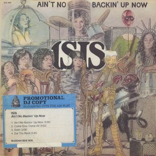 Isis / Ain't No Backin' Uo Now front