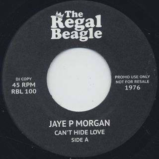 Jaye P Morgan / Can't Hide Love front