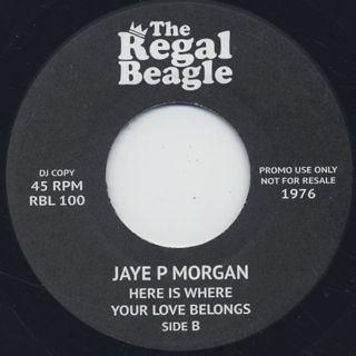 Jaye P Morgan / Can't Hide Love back