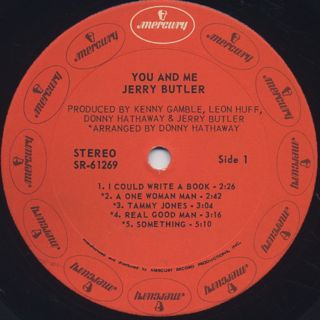 Jerry Butler / You And Me label
