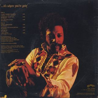 Latimore / It Ain't Where You Been... back