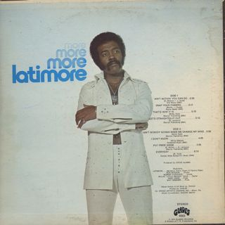 Latimore / More More More back