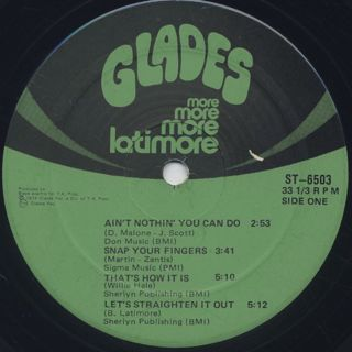 Latimore / More More More label