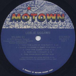 Leslie Uggams / S.T. label