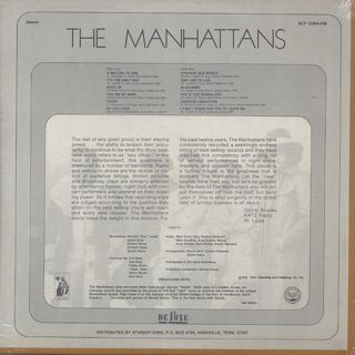 Manhattans / A Million To One back