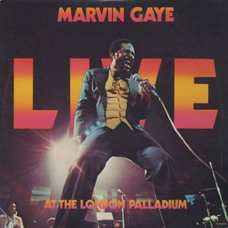 Marvin Gaye / Live At The London Palladium front