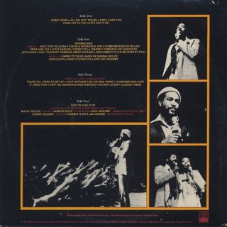 Marvin Gaye / Live At The London Palladium back