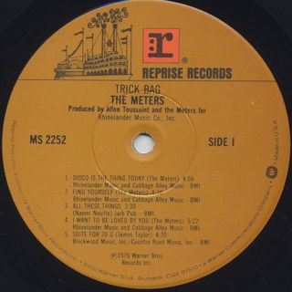 Meters / Trick Bag label