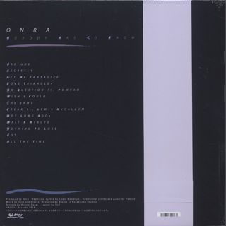 Onra / Nobody Has To Know (2LP) back