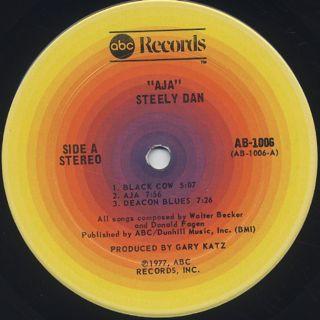 Steely Dan / Aja label
