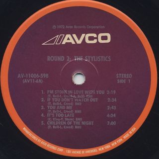 Stylistics / Round 2 label