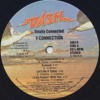 T-Connection / Totally Connected label