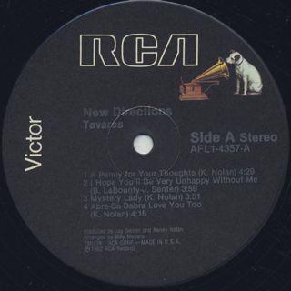 Tavares / New Directions label