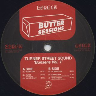 Turner Street Sound / Bunsens Vol. 1 label