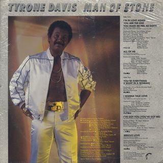 Tyrone Davis / Man Of Stone In Love Again back