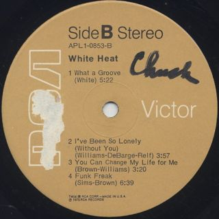 White Heat / S.T. label