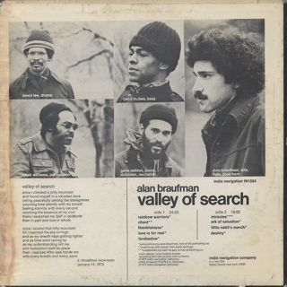 Alan Braufman / Valley Of Search back
