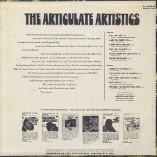 Artistics / The Articulate Artistics back