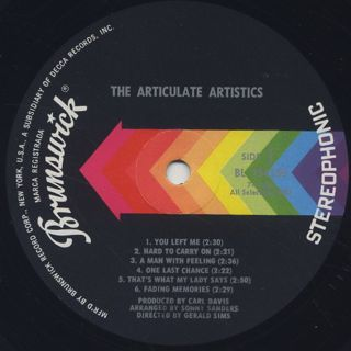 Artistics / The Articulate Artistics label