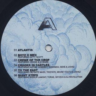 Blu and Nottz / Gods In The Spirit, Titans In The Flesh label
