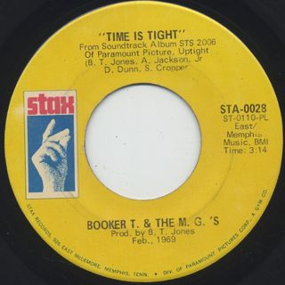 Booker T. & The M.G.'s / Time Is Tight