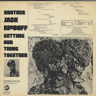 Brother Jack McDuff / Getting Our Thing Together back