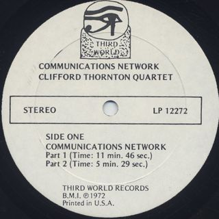 Clifford Thornton / Communications Network label