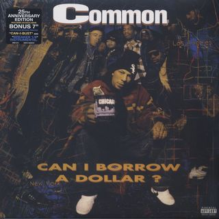 Common / Can I Borrow A Dollar? (2LP+7inch) front