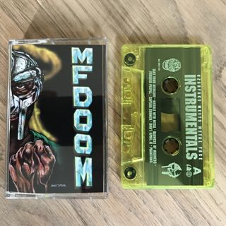 Czarface Meets Metal Face / Czarface Meets Metal Face Instrumentals(Cassette) label