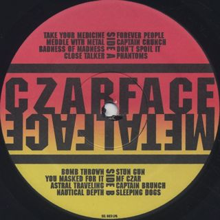 Czarface meets Metal Face / S.T. label