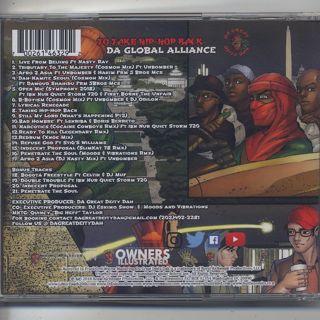 Da Great Deity Dah / To Take Hip-Hop Back. The Global Alliance (CD) back