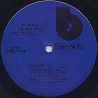 Donald Byrd / Black Byrd label