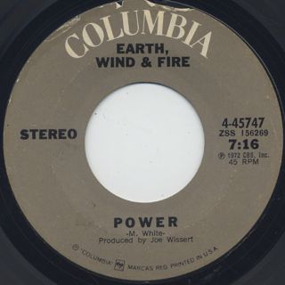 Earth, Wind & Fire / Mom c/w Power