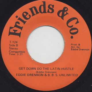 Eddie Drennon & B.B.S. Unlimited / Let's Do The Latin Hustle back