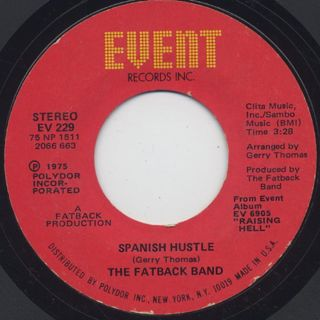 Fatback Band / Spanish Hustle (7