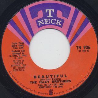 Isley Brothers / Work To Do c/w Beautiful back
