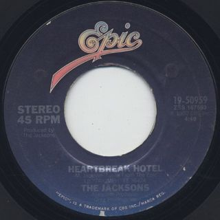 Jacksons / Heartbreak Hotel c/w Things I Do For You