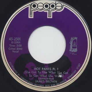 James Brown / Hot Pants Pt.I c/w Pt.II & III