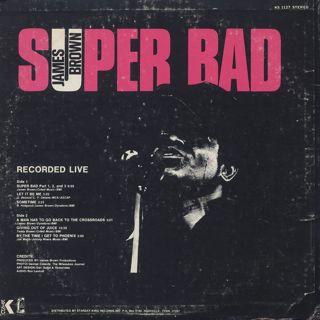 James Brown / Super Bad back