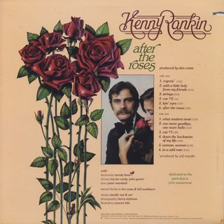 Kenny Rankin / After The Roses back