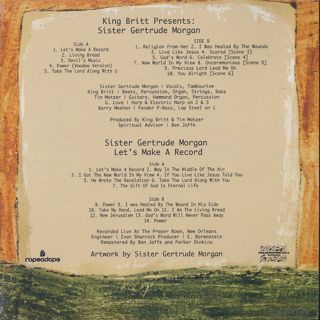 King Britt / Sister Gertrude Morgan - King Britt Presents: Sister Gertrude Morgan / Let's Make A Record back