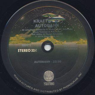 Kraftwerk / Autobahn label