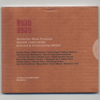 Lord Echo / Diggin' Lord Echo by Muro (CD)