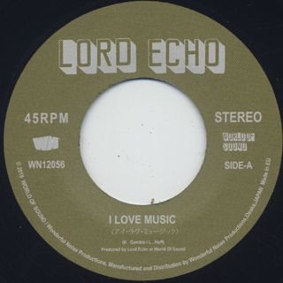 Lord Echo / I Love Music back