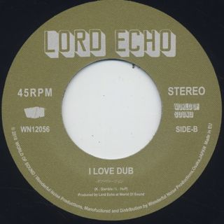 Lord Echo / I Love Music label