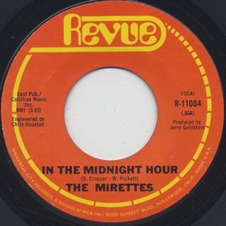 Mirettes / In The Midnight Hour front