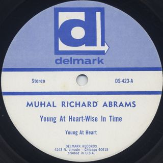 Muhal Richard Abrams / Young At Heart - Wise In Time label