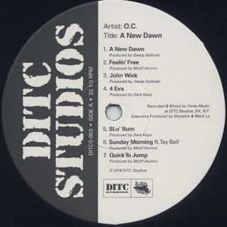 O.C. / A New Dawn label