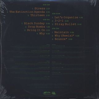 Organized Konfusion / Stress (The Extinction Agenda) Instrumentals back