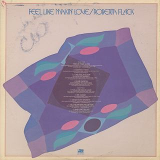 Roberta Flack / Feel Like Makin' Love back